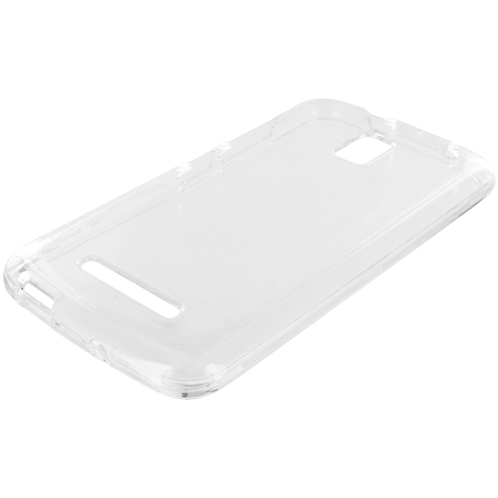 LG G Flex 2 Clear Crystal Transparent Hard Case Cover