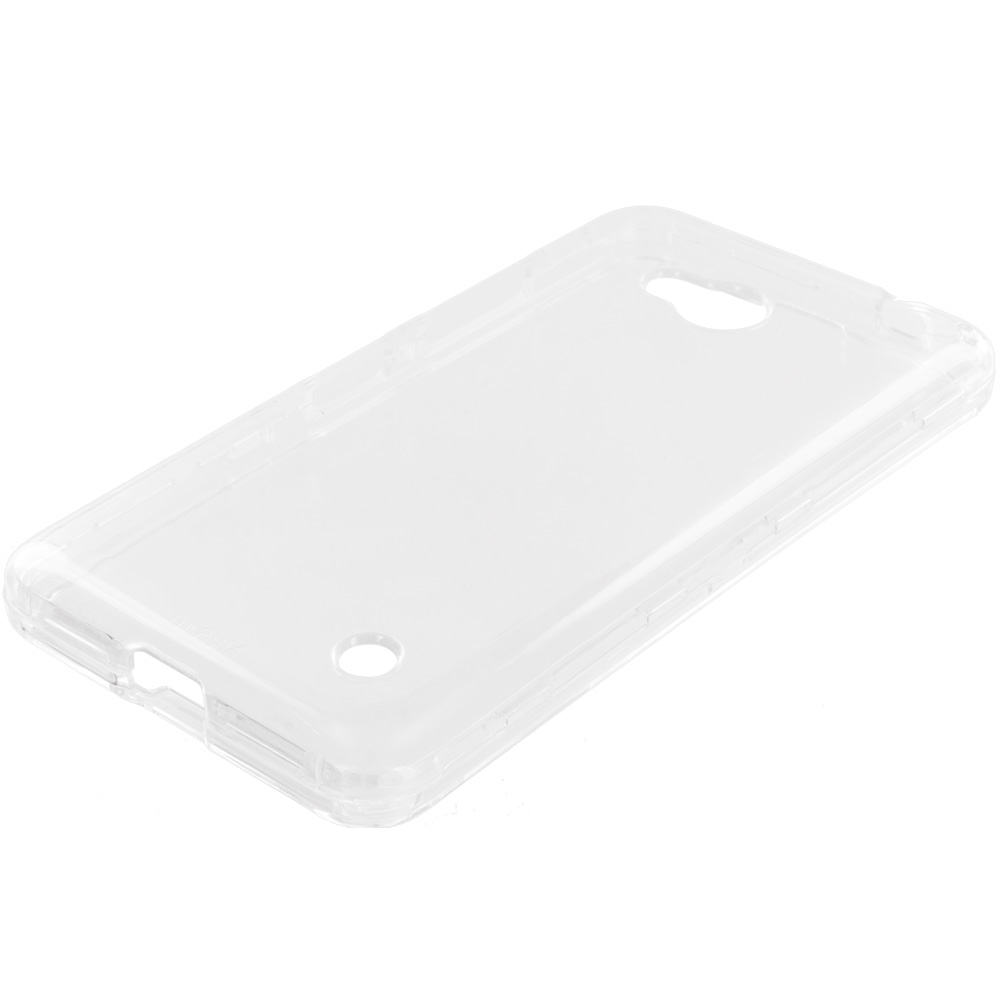 Microsoft Lumia 640 Clear Crystal Transparent Hard Case Cover