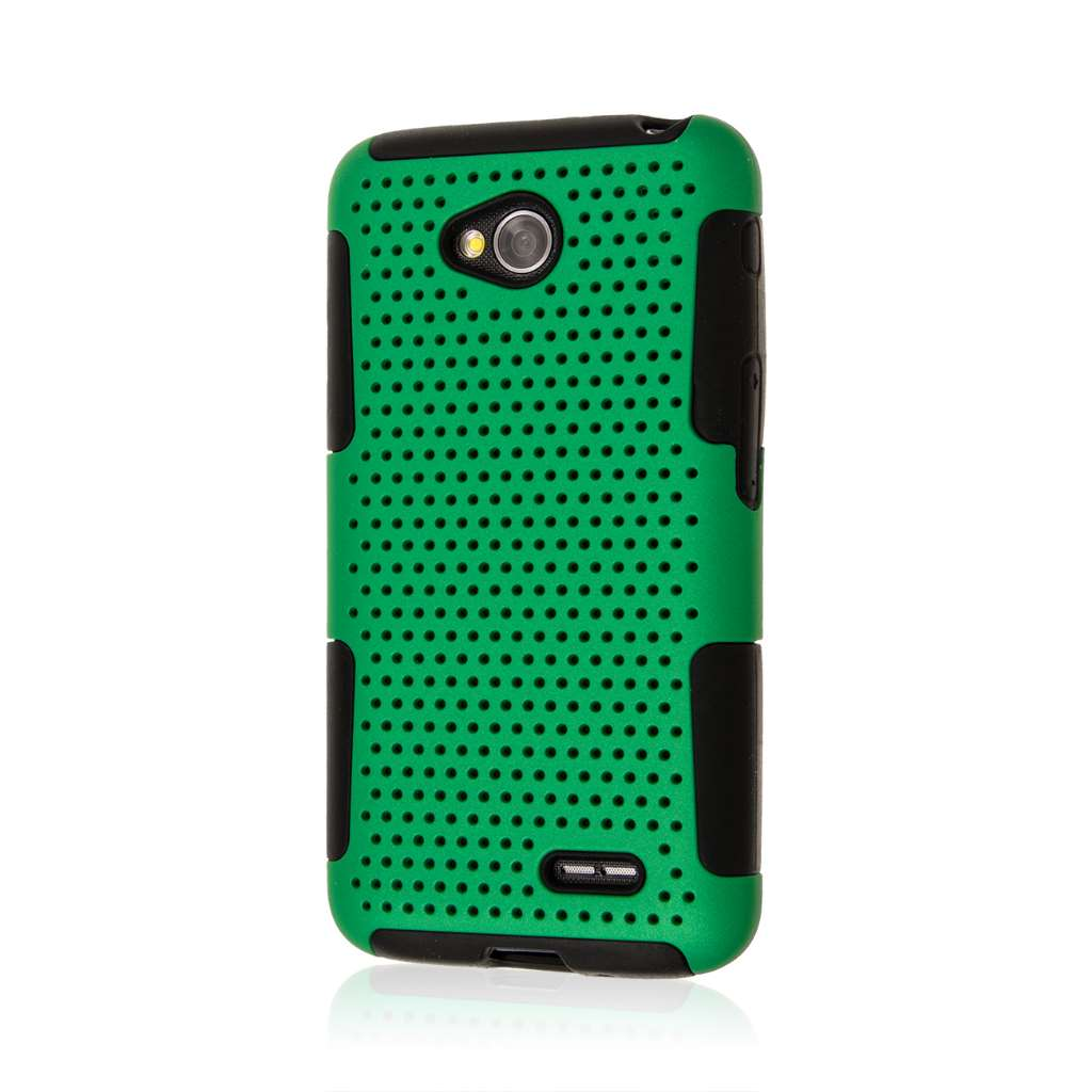 LG Optimus L70 - Green MPERO FUSION M - Protective Case Cover