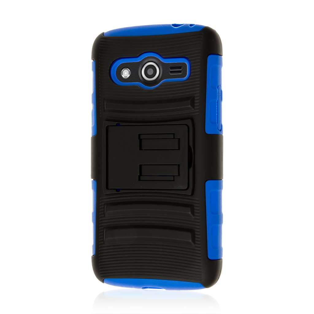 Samsung Galaxy Avant - Blue MPERO IMPACT XT - Kickstand Case Cover
