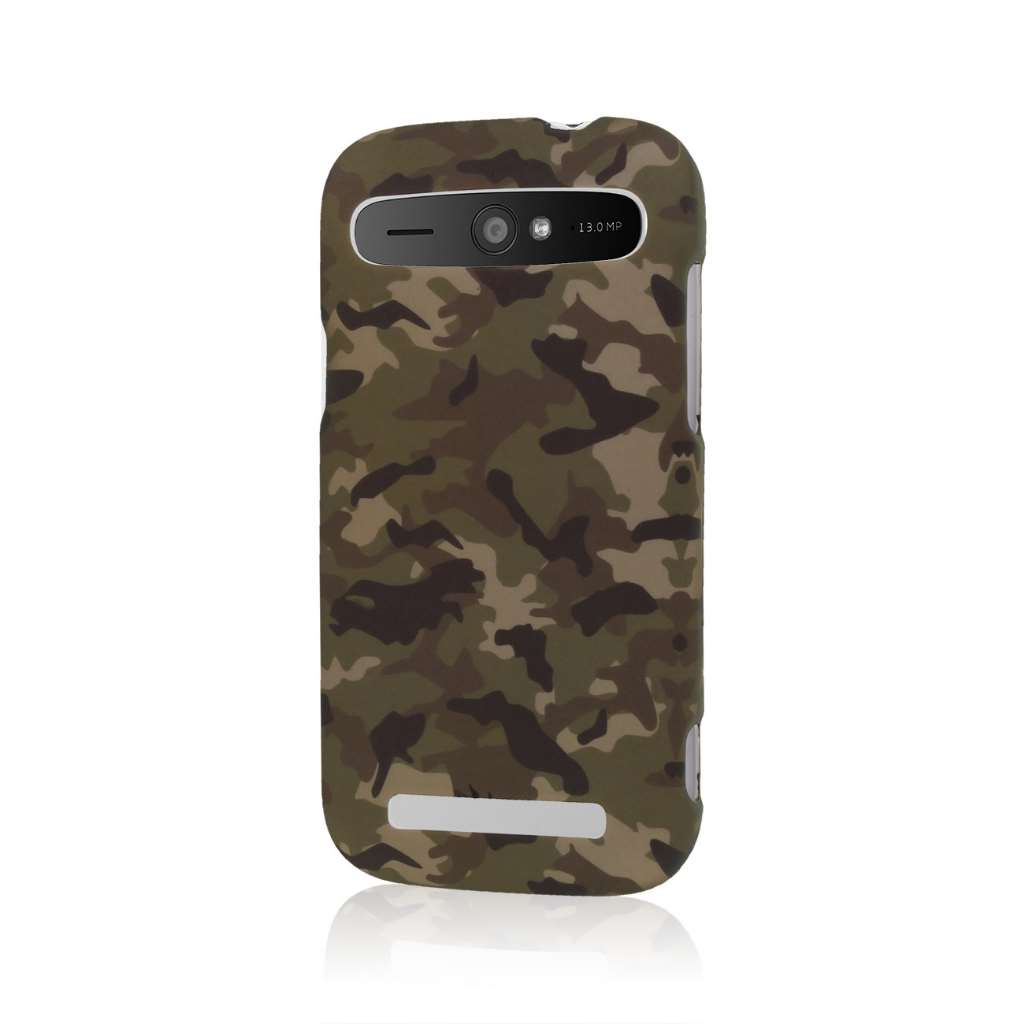ZTE Grand S Pro - Green Camo MPERO SNAPZ - Case Cover
