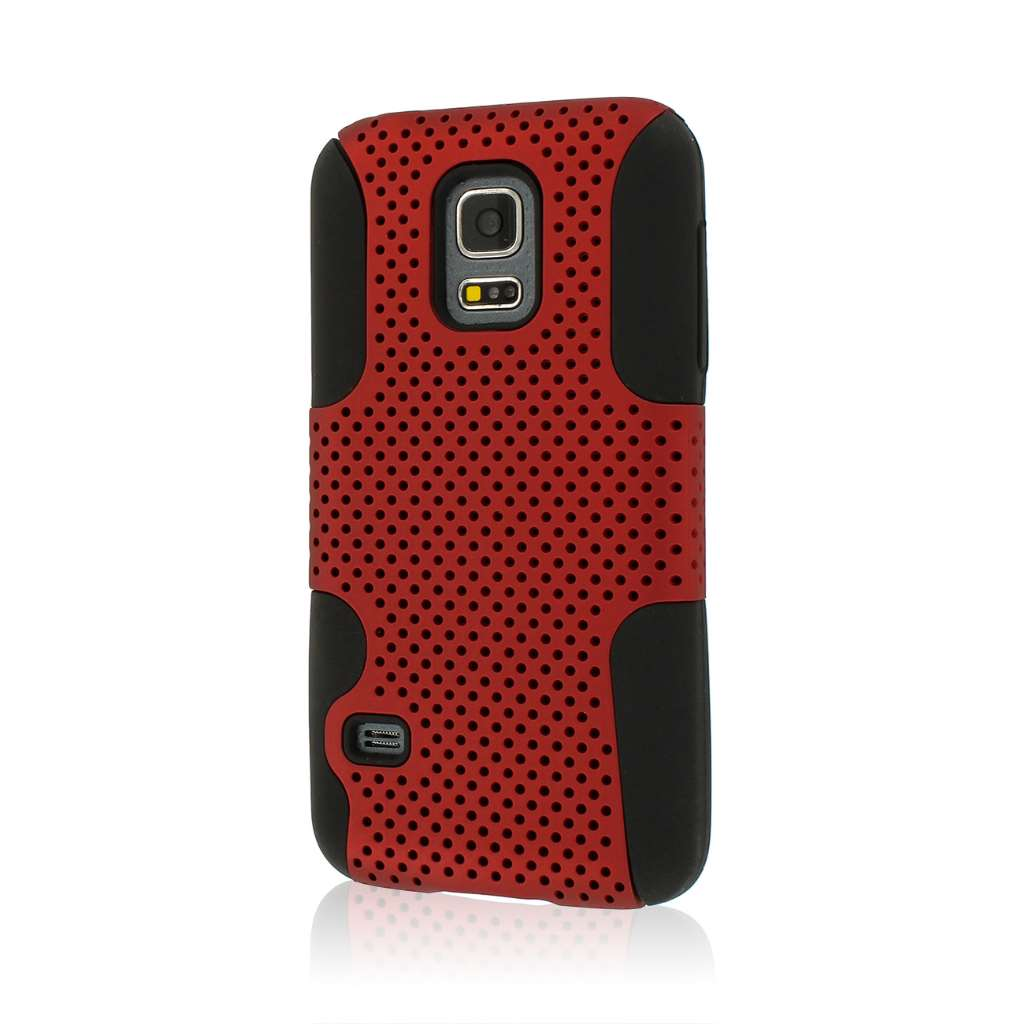 Samsung Galaxy S5 Mini - Red MPERO FUSION M - Protective Case Cover