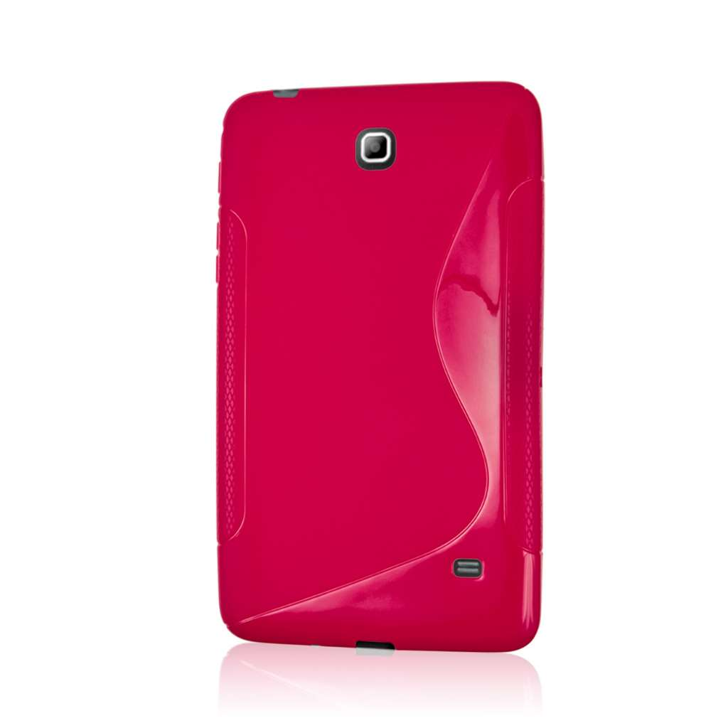 Samsung Galaxy Tab 4 7.0 - Hot Pink MPERO FLEX S - Protective Case Cover