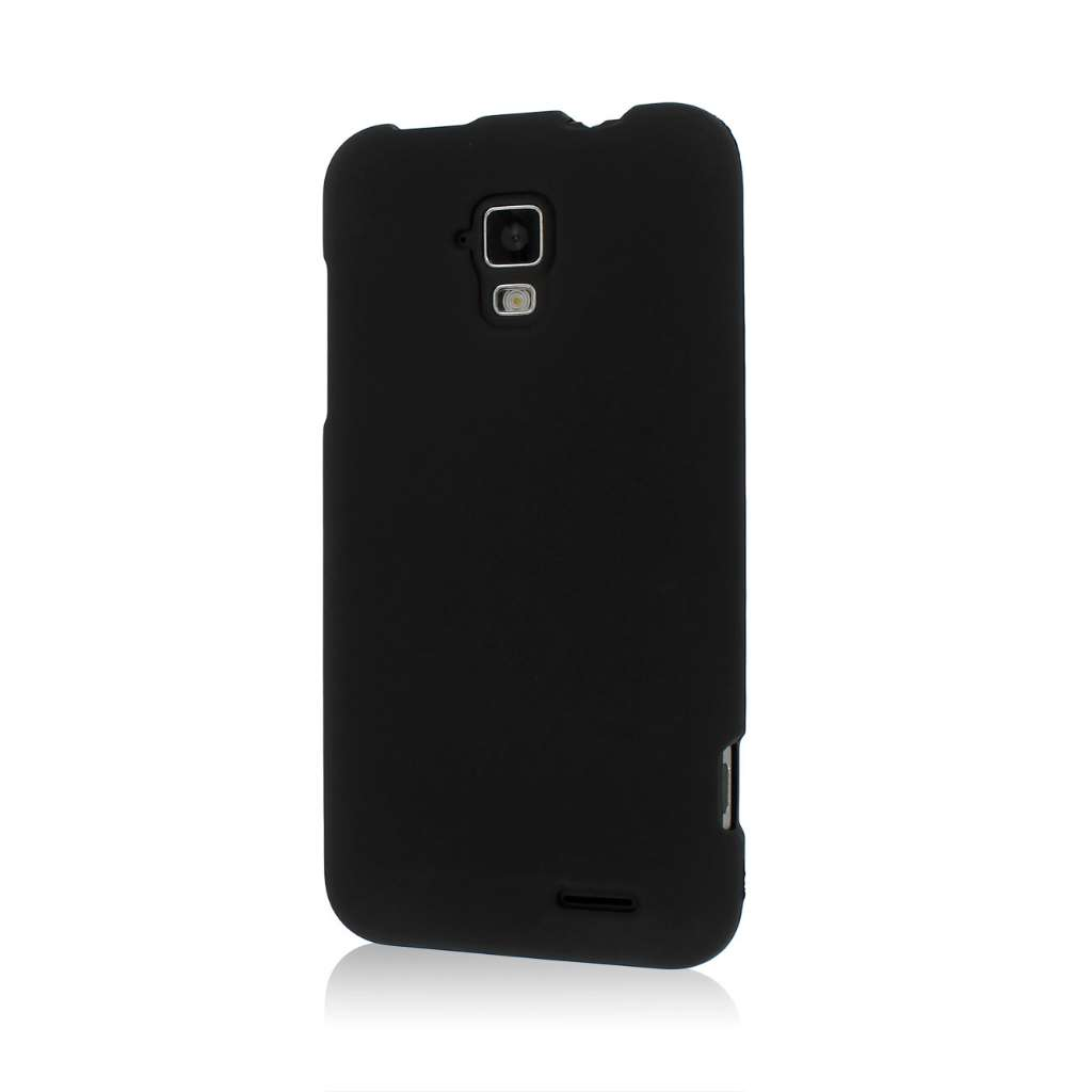 AT&T Z998 - Black MPERO SNAPZ - Rubberized Case Cover