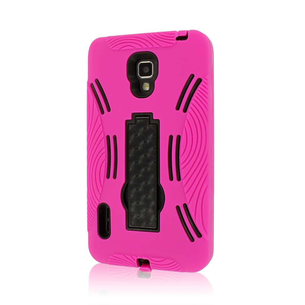 LG Optimus F7 US780 - Hot Pink MPERO IMPACT XL - Kickstand Case Cover