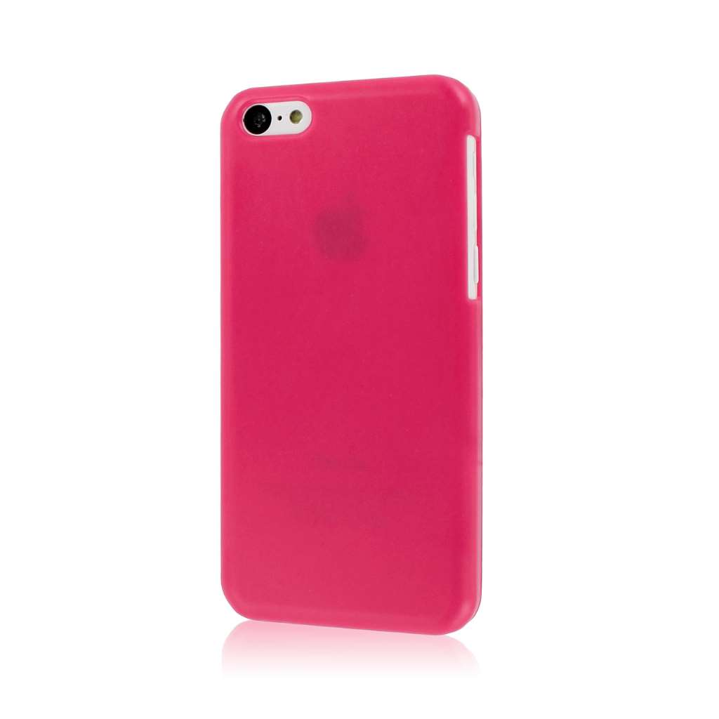 Apple iPhone 5C - Hot Pink MPERO SNAPZ - Glossy Case Cover
