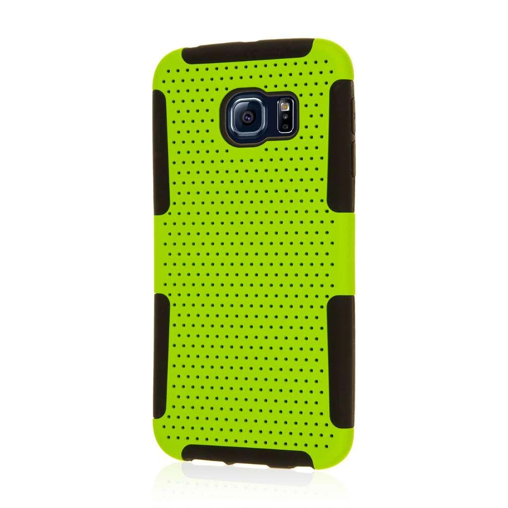 Samsung Galaxy S6 Edge - Neon Green MPERO FUSION M - Protective Case Cover