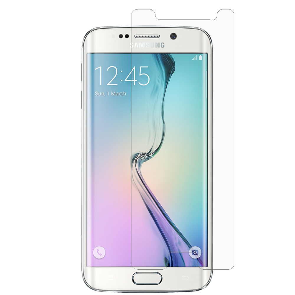 Samsung Galaxy S6 Edge (Does Not Cover Side Edge) Clear LCD Screen Protector