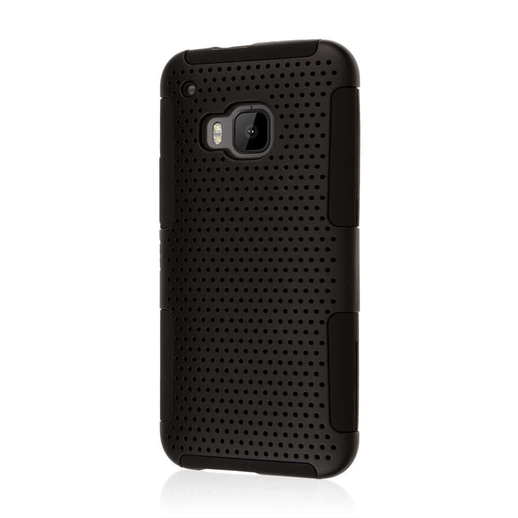 HTC One M9 - Black MPERO FUSION M - Protective Case Cover