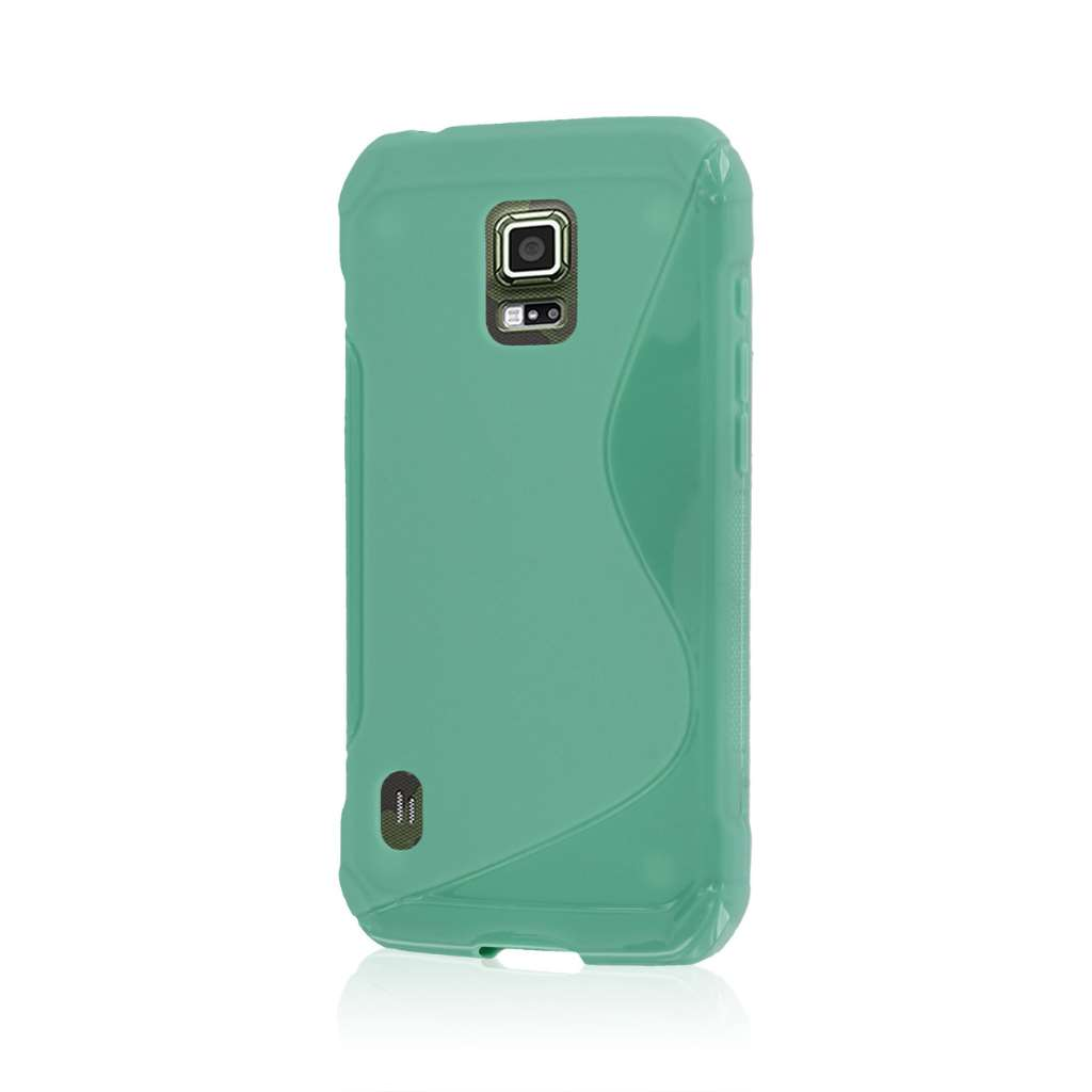 Samsung Galaxy S5 Active - Mint MPERO FLEX S - Protective Case Cover