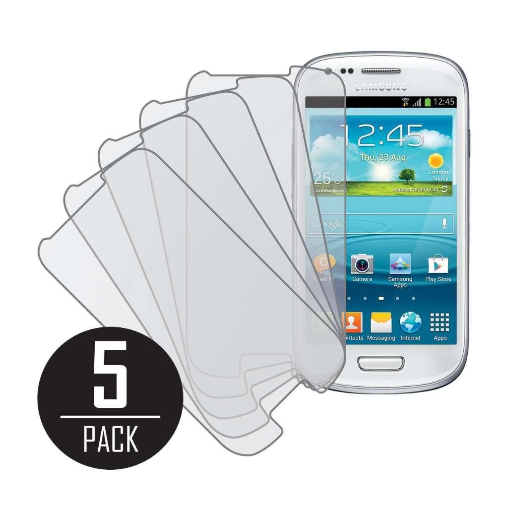 Samsung Galaxy S3 Mini MPERO 5 Pack of Matte Anti-Glare Screen Protectors