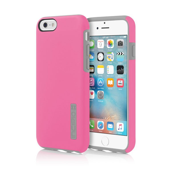 iPhone 6/6S - Pink/Gray Incipio DualPro Case Cover