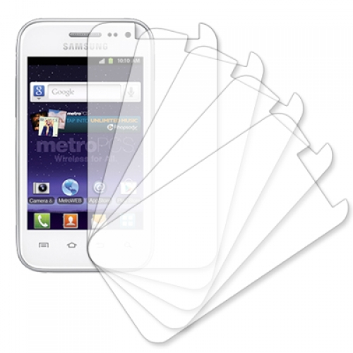 Samsung Galaxy Admire 4G R820 MPERO 5 Pack of Clear Screen Protectors