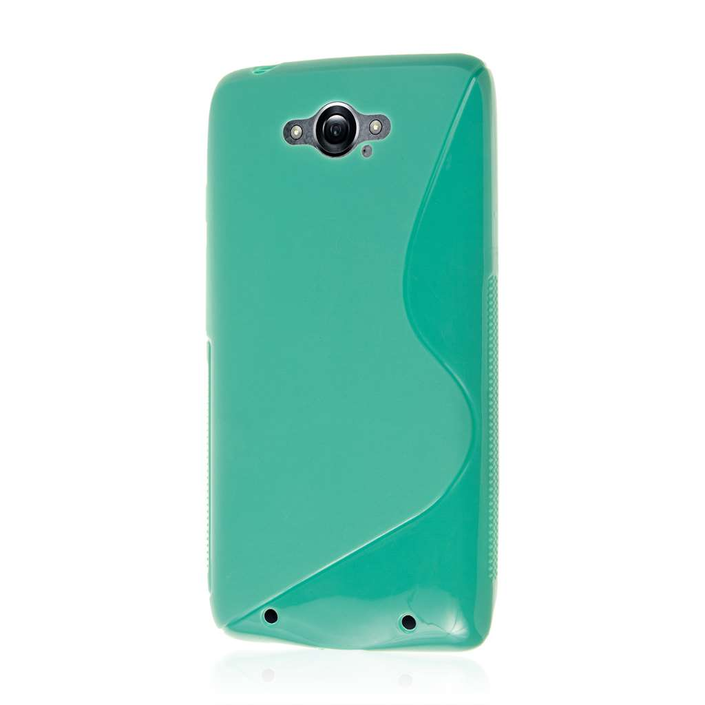 Motorola DROID TURBO - Mint Green MPERO FLEX S - Protective Case Cover