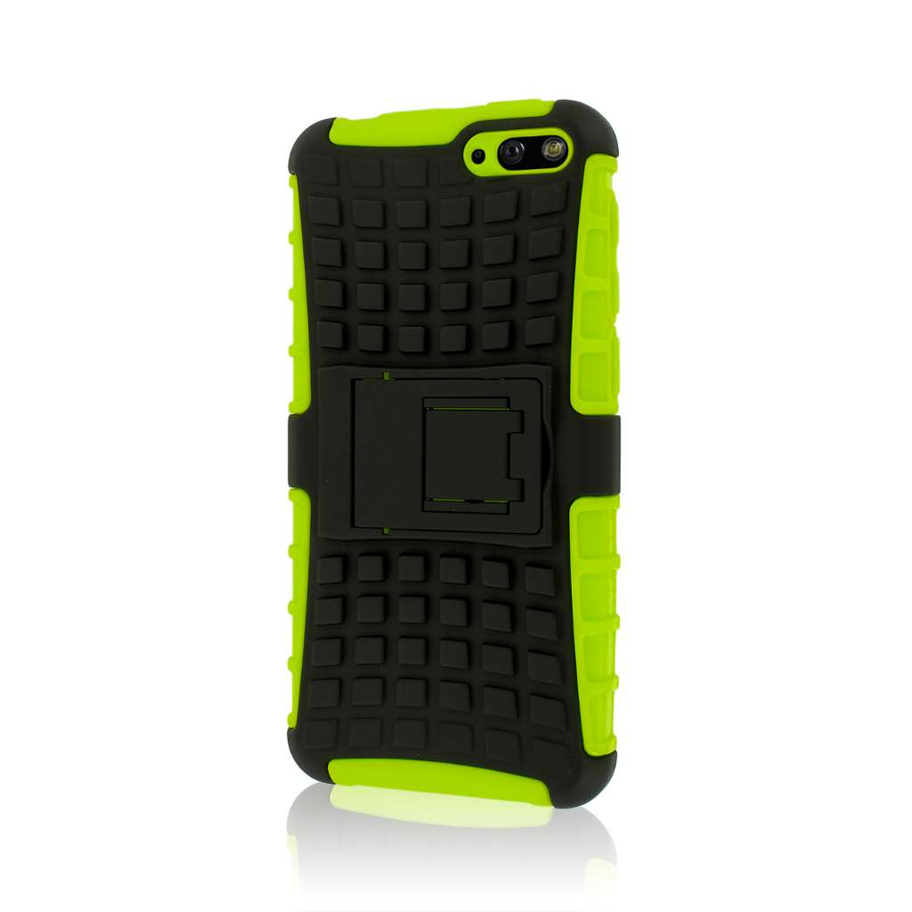 Amazon Fire Phone - Neon Green MPERO IMPACT SR - Kickstand Case Cover