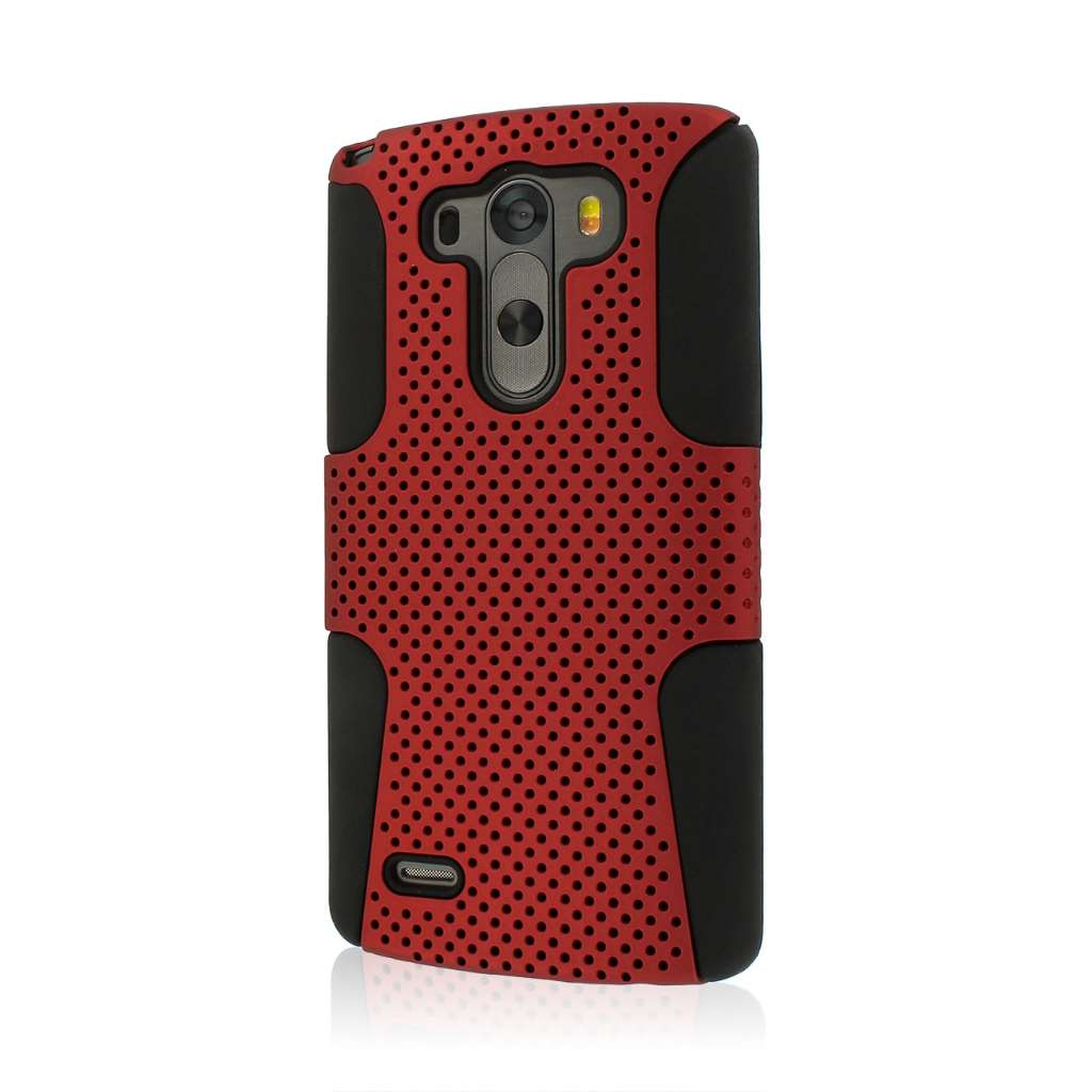 LG G3 - Red MPERO FUSION M - Protective Case Cover