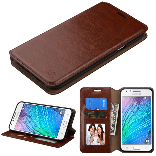 For Samsung Galaxy J7 Wallet Myjacket Executive Pouch Case