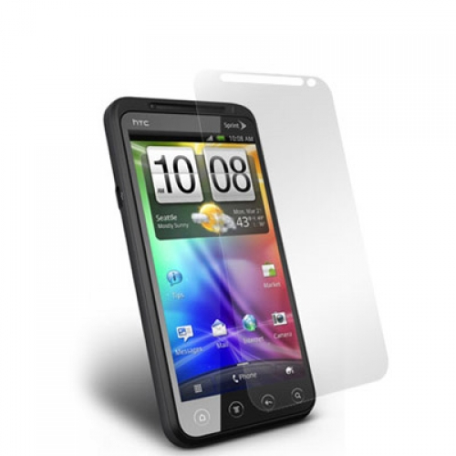 HTC EVO 3D Clear LCD Screen Protector