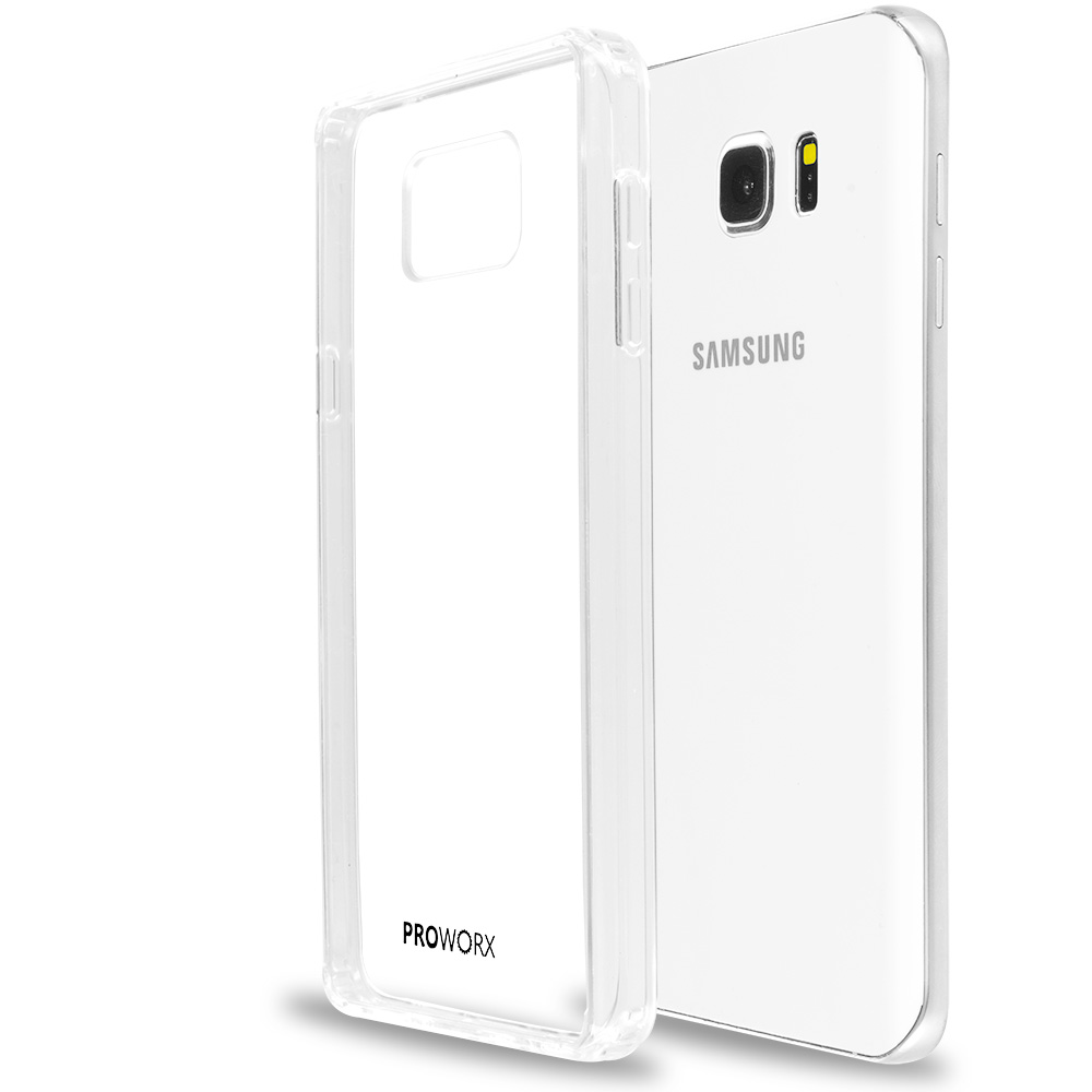 Samsung Galaxy Note 5 Clear ProWorx Shock Absorption Case Bumper TPU & Anti-Scratch Clear Back Cover