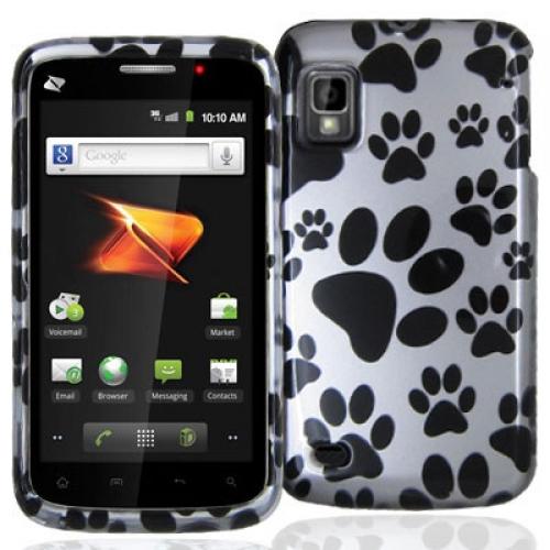 ZTE Warp N860 Dog Paw Design Crystal Hard Case Cover