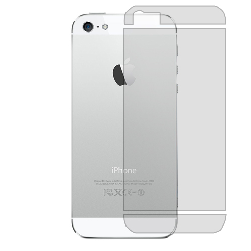 Apple iPhone 5 / 5S Anti Glare Rear LCD Screen Protector
