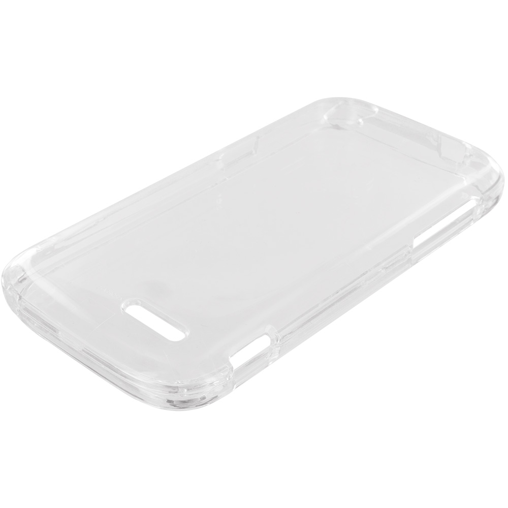 ZTE Grand X Z777 Clear Crystal Transparent Hard Case Cover