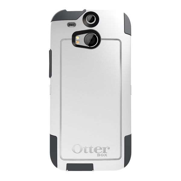 HTC One (M8) - Glacier OtterBox Commuter Case