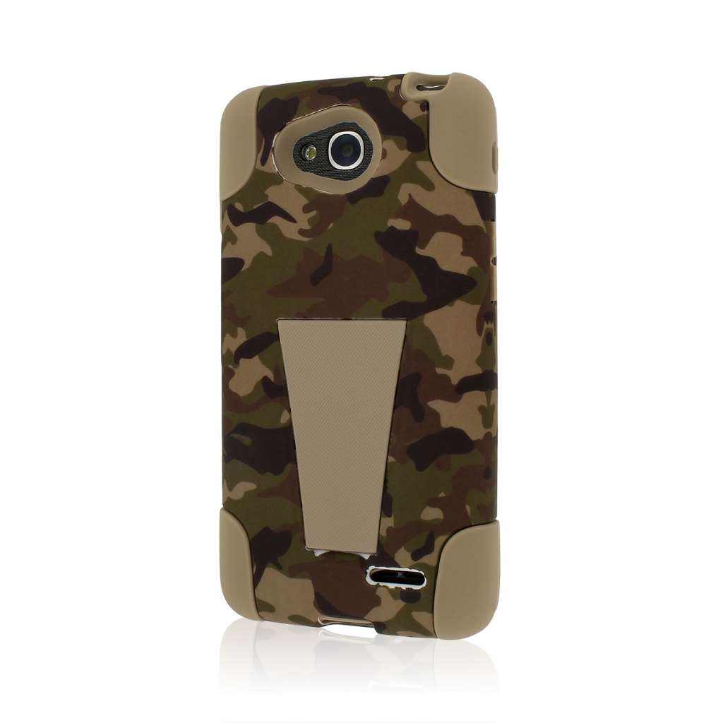 LG Optimus L90 - Hunter Camo MPERO IMPACT X - Kickstand Case Cover