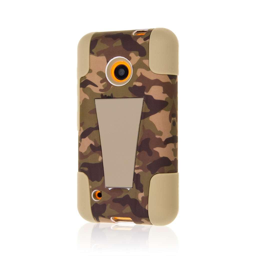 Nokia Lumia 530 - Hunter Camo MPERO IMPACT X - Kickstand Case Cover
