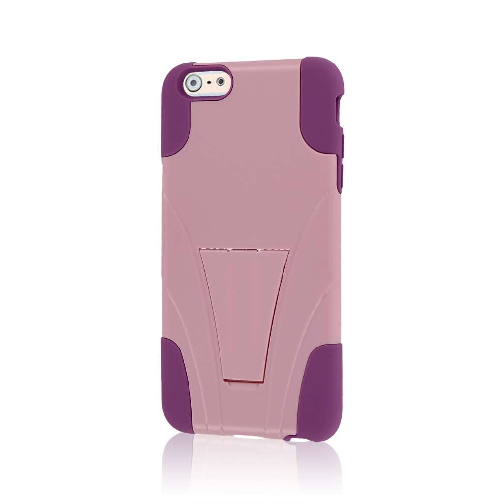Apple iPhone 6 6S Plus - Pink MPERO IMPACT X - Kickstand Case Cover