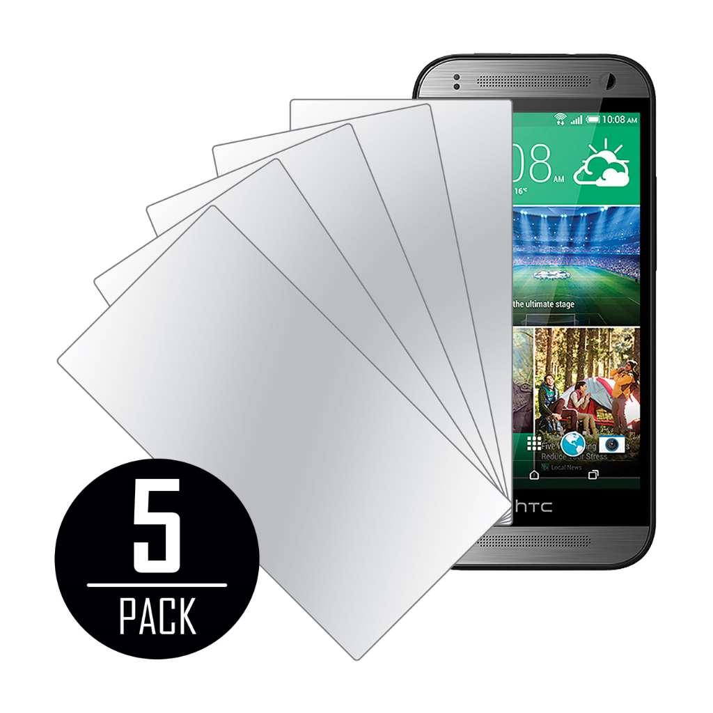 HTC One mini 2 MPERO 5 Pack of Mirror Screen Protectors