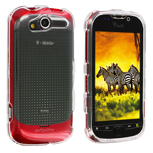 HTC Mytouch 4G Clear Crystal Transparent Hard Case Cover
