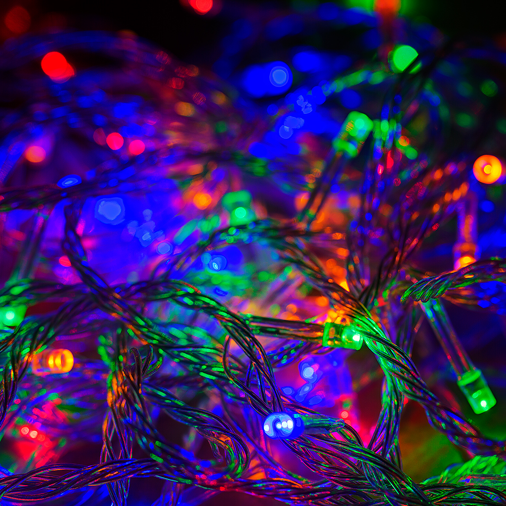 Led m christmas tree fairy party lights xmax