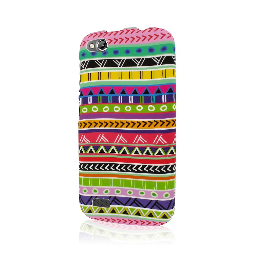 BLU Life Play - Aztec Fiesta MPERO SNAPZ - Rubberized Case Cover