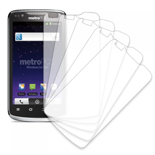 ZTE Anthem 4G MPERO 5 Pack of Clear Screen Protectors