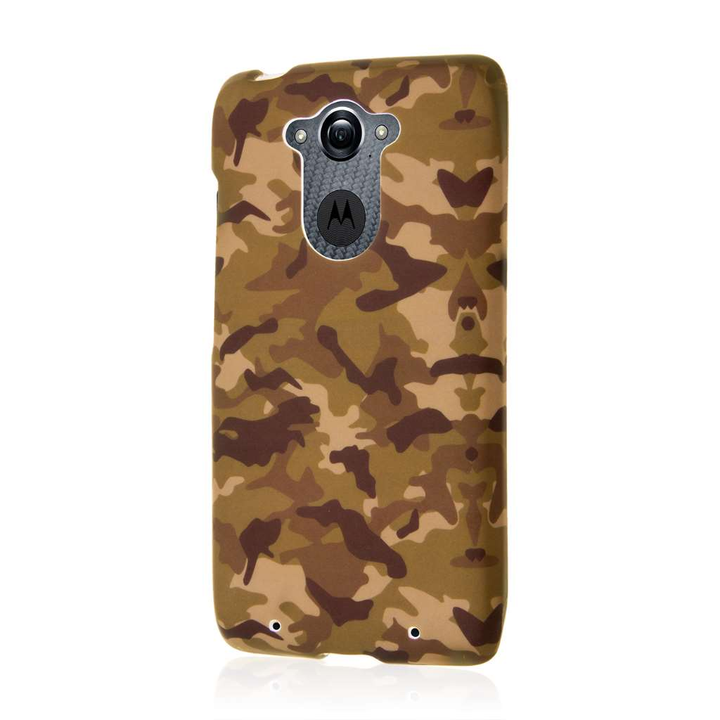 Motorola DROID TURBO - Green Camo MPERO SNAPZ - Case Cover