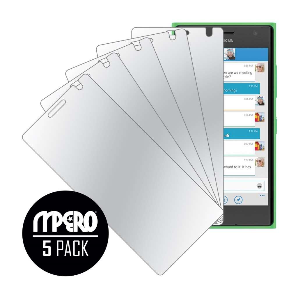 Nokia Lumia 730 MPERO 5 Pack of Mirror Screen Protectors