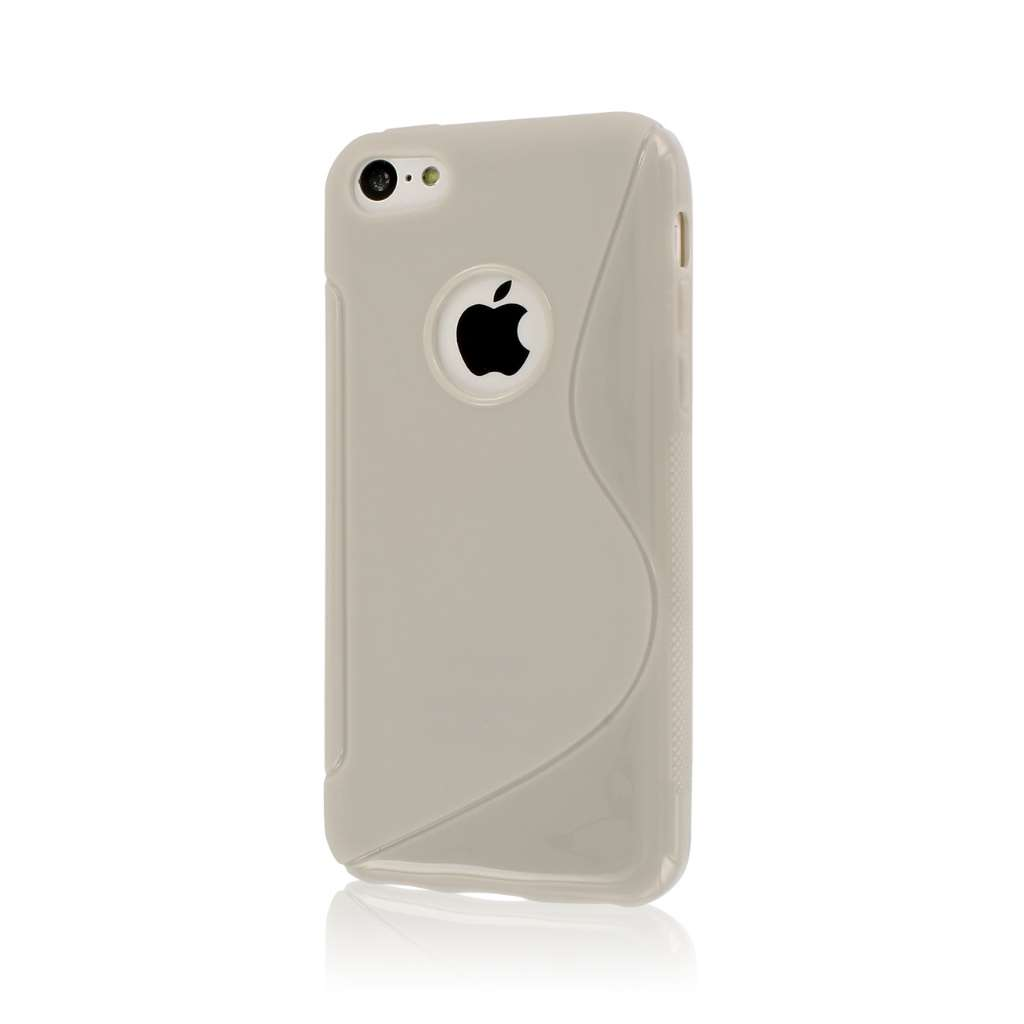 Apple iPhone 5C - light gray MPERO FLEX S - Protective Case Cover