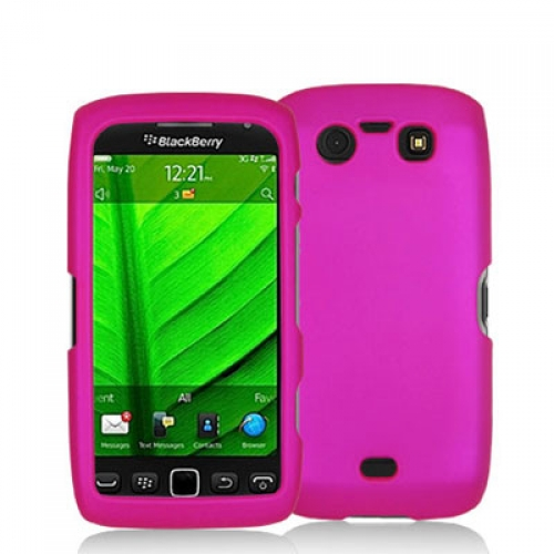 BlackBerry Torch 9850 9860 Hot Pink Hard Rubberized Case Cover