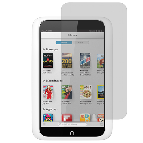 Barnes & Noble Nook HD 7.0 Clear LCD Screen Protector