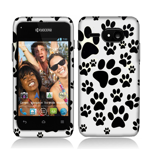 Sony Event C5133 Dog Paw Hard Rubberized Design Case Cover