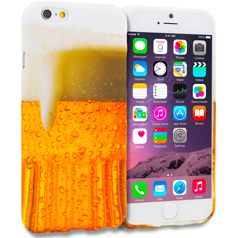 Apple iPhone 6 6S (4.7) Beer TPU Design Soft Case Cover