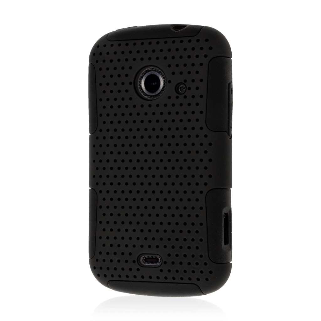 ZTE Zinger Z667 - Black MPERO FUSION M - Protective Case Cover