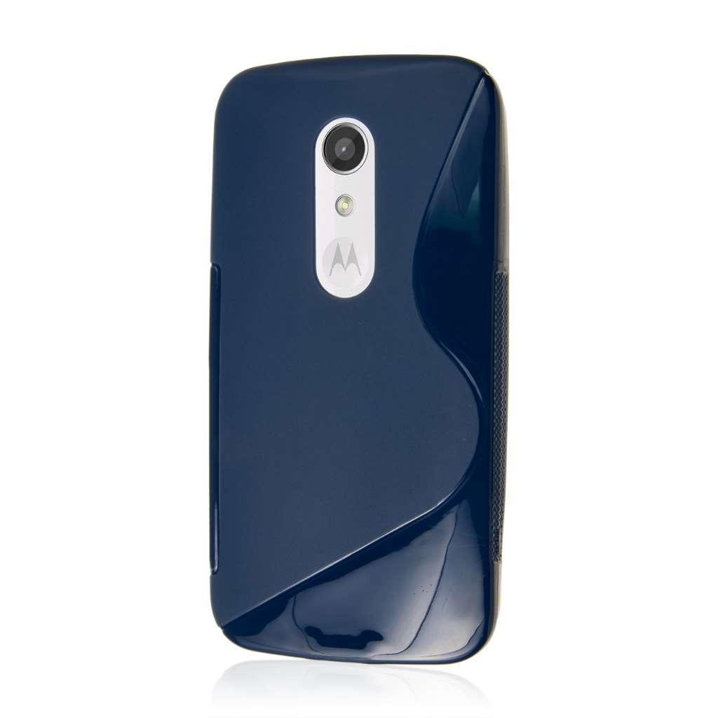 Motorola Moto G 2nd Gen 2014 - Navy Blue MPERO FLEX S - Protective Case