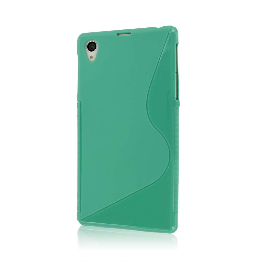 Sony Xperia Z1 C6906 - Mint Green MPERO FLEX S - Protective Case Cover