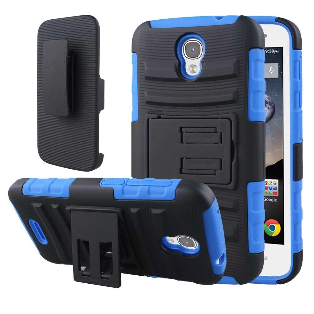 Alcatel OneTouch POP Astro - Blue MPERO IMPACT XT - Kickstand Case Cover