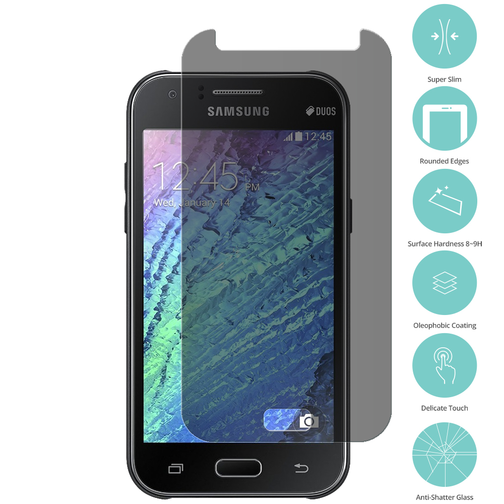 Samsung Galaxy J7 Privacy Tempered Glass Film Screen Protector