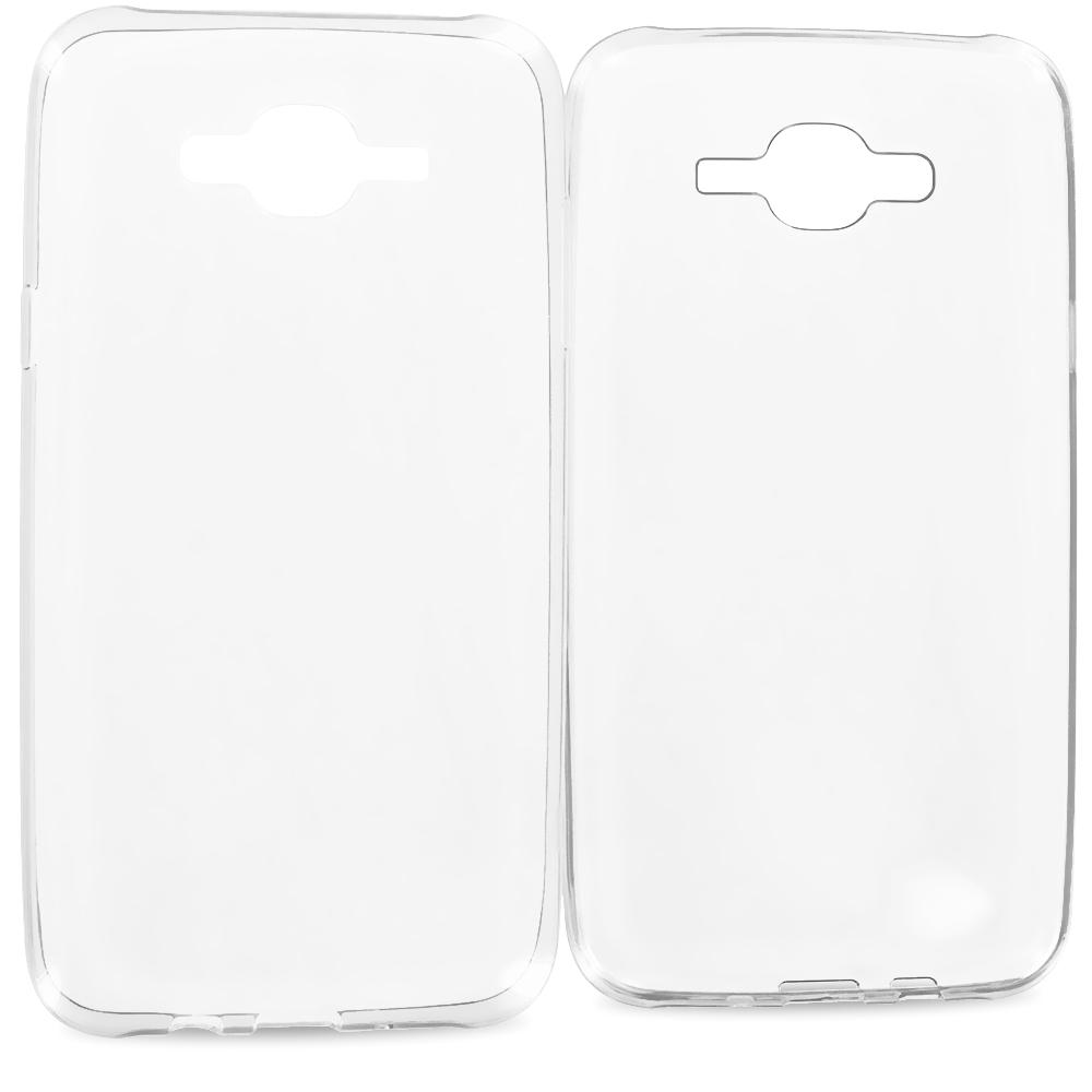 Samsung Galaxy J7 Clear TPU Rubber Skin Case Cover