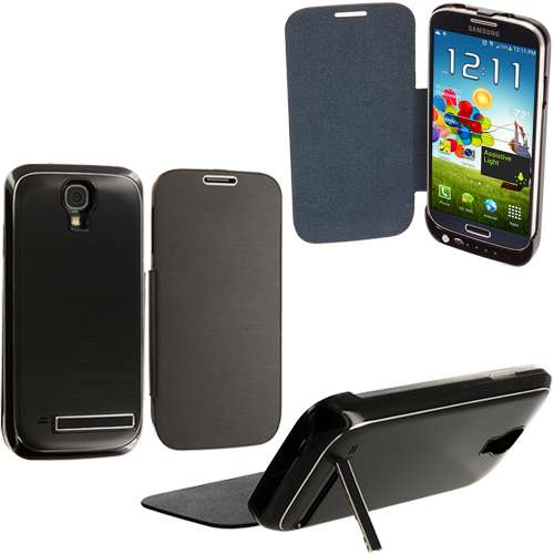 Samsung Galaxy S4 Black External Backup Battery Case Cover