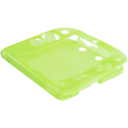 Nintendo 2DS Lime Green Silicone Soft Skin Case Cover